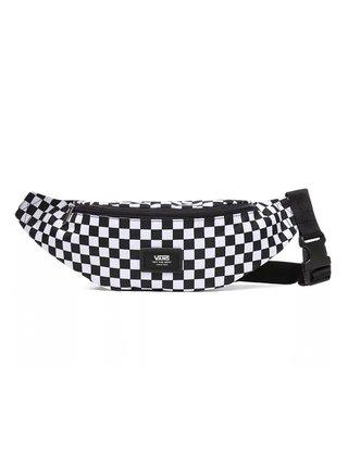 Vans MINI WARD Black/White Check pánské běžecká ledvinka - černá