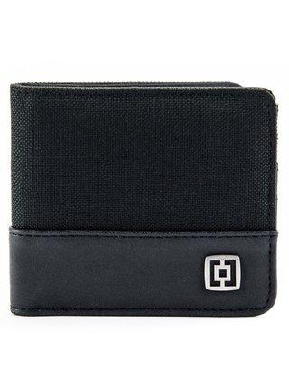 Horsefeathers TERRY black pánská značková peněženka - černá