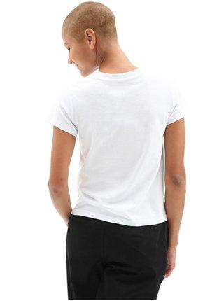 Vans FLYING V CLASSIC MUS white dámské triko s krátkým rukávem - bílá