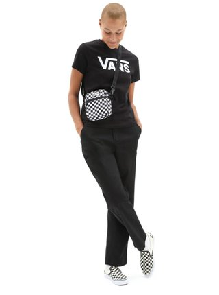 Vans FLYING V CLASSIC MUS black dámské triko s krátkým rukávem - černá