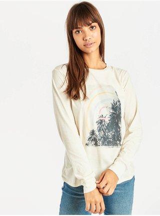 Billabong HIGH TIDE COOL WIP dámské triko s dlouhým rukávem - béžová