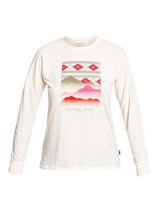 Billabong AZTEKA TRAIL WHITE CAP dámské triko s dlouhým rukávem - bílá