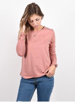 Roxy RED SUNSET ASH ROSE dámské triko s dlouhým rukávem - růžová