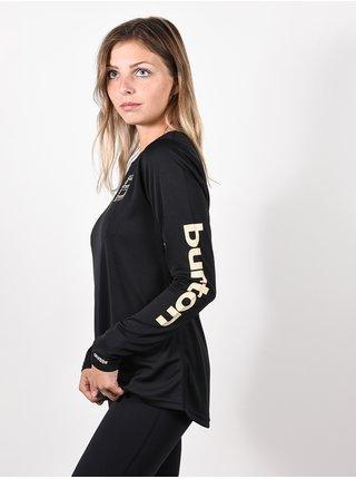 Burton MULTIPATH TRUE BLACK dámské triko s dlouhým rukávem - černá