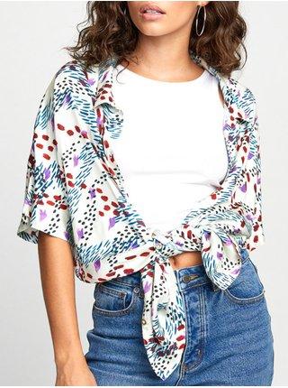 RVCA RAMINA MULTI košile pro ženy - modrá