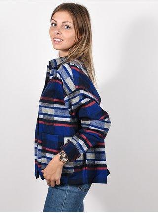 Element AMERICANA ECLIPSE NAVY dámská košile s dlouhým rukávem - modrá