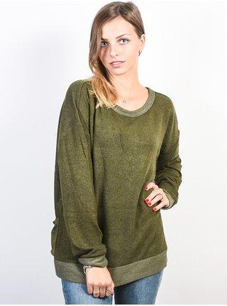 Billabong LET GO olive mikina dámská - zelená