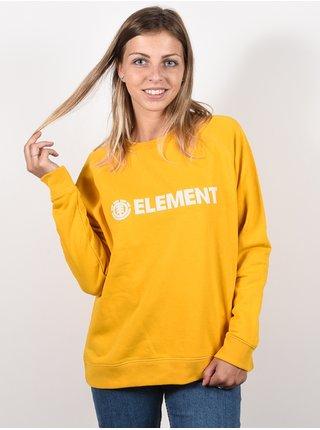 Element LOGIC OLD GOLD mikina dámská - žlutá