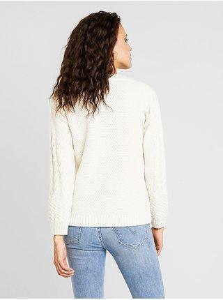 Element ACHILLE NATURAL svetr dámský - bílá