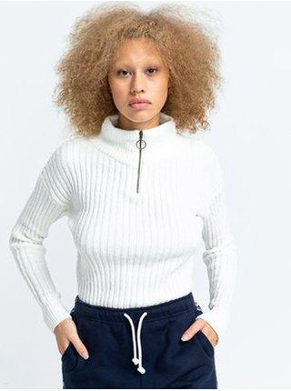 Element ONYX off white svetr dámský - bílá