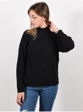 RVCA ARABELLA black svetr dámský - černá