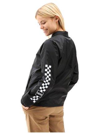Vans THANKS COACH MIXED U black podzimní bunda pro ženy - černá