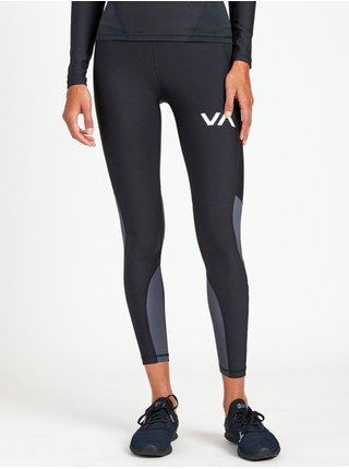 RVCA COMPRESSION black dámské sportovní legíny - černá