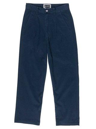Element OLSEN ECLIPSE NAVY plátěné kalhoty dámské - modrá