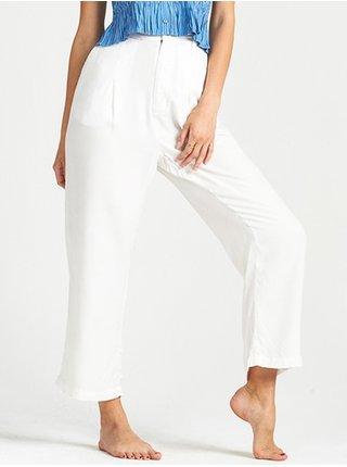 Billabong CASUAL SALT CRYSTAL plátěné kalhoty dámské - bílá