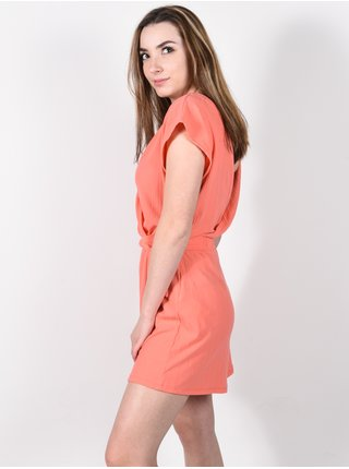 Billabong EASY DAY CORAL KISS plátěné kraťasy dámské - oranžová