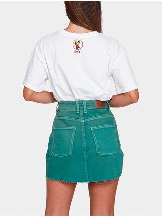 RVCA SIENA STORM GREEN krátká sukně - zelená