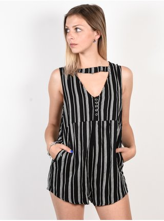 Element CLOUD 9 black krátké letní šaty - černá