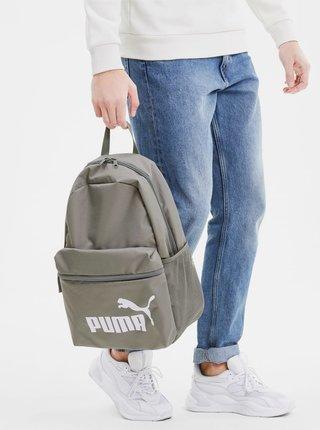 Šedý batoh s potiskem Puma