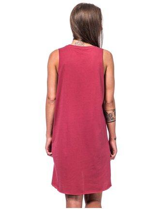 Horsefeathers QUINN garnet rose krátké letní šaty - červená