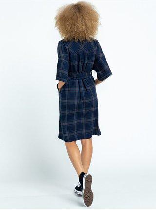 Element TAMLYN NAVY/GREEN krátké letní šaty - modrá