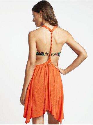 Billabong TWISTED VIEW SAMBA krátké letní šaty - oranžová