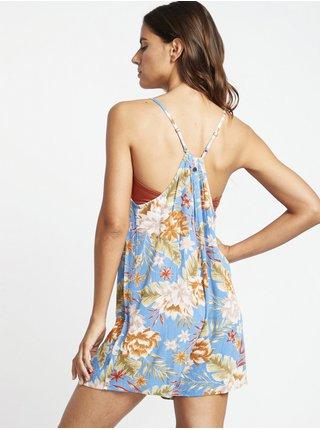 Billabong DEL SUR MINI FRENCH BLUE krátké letní šaty - barevné