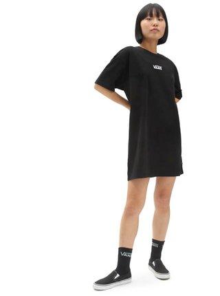 Vans CENTER VEE black krátké letní šaty - černá