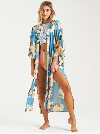 Billabong EASTERN RISER surf blue dlouhé letní šaty - barevné