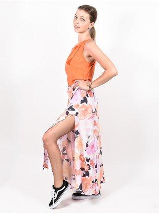 Rip Curl ISLAND LILAC dlouhé letní šaty - oranžová