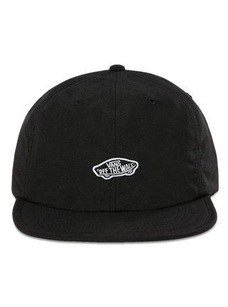 Vans PACKED black kšiltovka s rovným kšiltem - černá