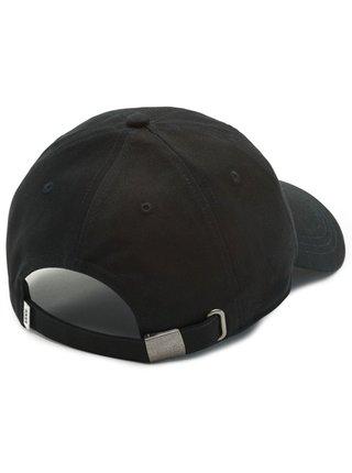 Vans COURT SIDE BLACK CHECKER baseballová kšiltovka - černá