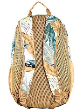 Rip Curl OVERTIME white batoh do školy - barevné