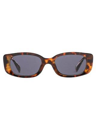 Vans BOMB SHADES CHEETAH TORTOISE sluneční brýle pilotky - hnědá