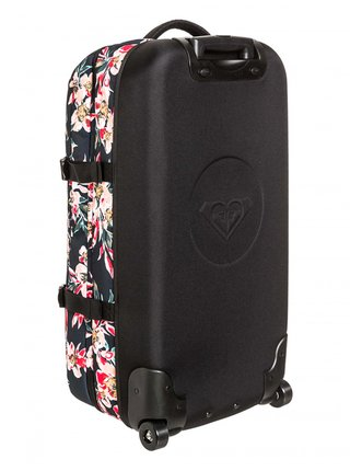 Roxy FLY AWAY TOO ANTHRACITE WONDER GARDEN S kufr do letadla - barevné