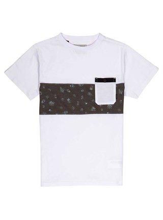 Billabong TRIBONG CREW white dětské triko s krátkým rukávem - bílá
