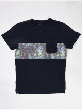 Billabong TRIBONG NAVY dětské triko s krátkým rukávem - černá