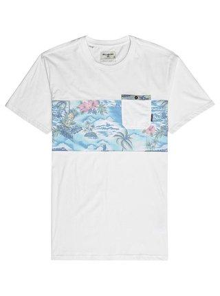Billabong TRIBONG BONE dětské triko s krátkým rukávem - bílá