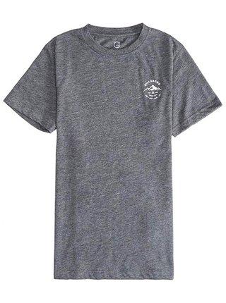Billabong AURORA DARK GREY HEATH dětské triko s krátkým rukávem - šedá