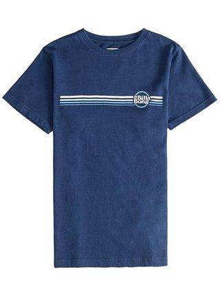Billabong CRUISER STRIPE dark blue dětské triko s krátkým rukávem - modrá