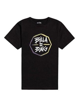 Billabong OCTO black dětské triko s krátkým rukávem - černá