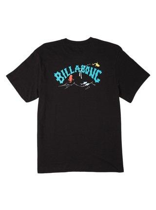 Billabong RED FISH black dětské triko s krátkým rukávem - černá