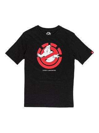 Element GHOSTLY FLINT BLACK dětské triko s krátkým rukávem - černá