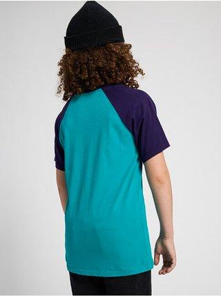 Burton VAULT dynasty green dětské triko s krátkým rukávem - modrá