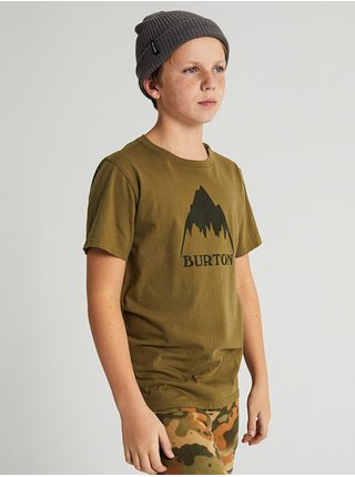 Burton CLASSIC MTN HIGH MARTINI OLIVE dětské triko s krátkým rukávem - zelená