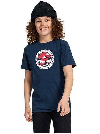 Burton COLE DRESS BLUE dětské triko s krátkým rukávem - modrá