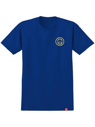 Spitfire CLASSIC SWIRL ROYAL/YLW dětské triko s krátkým rukávem - modrá