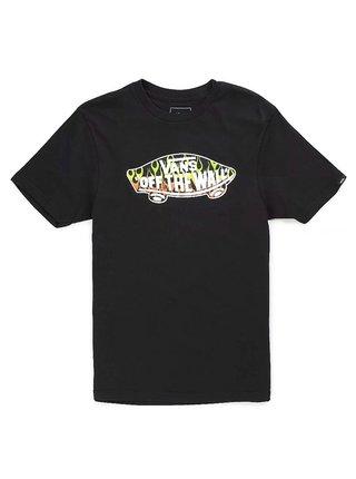 Vans OTW LOGO FILL BLACK/SLIME dětské triko s krátkým rukávem - černá