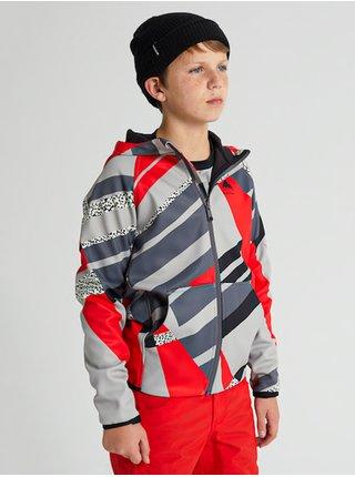 Burton CROWN WATHERPROOF BOLD THROWBACK dětská mikiny na zip