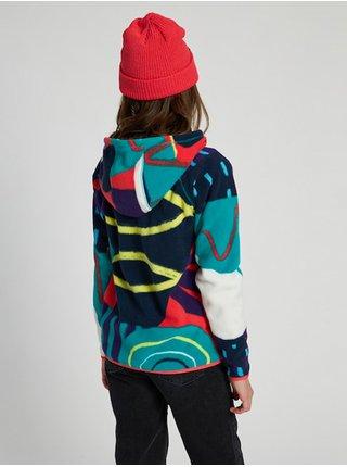 Burton SPARK GRAPHIC MIX dětská mikiny na zip - barevné